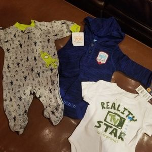 NWT 3/6 Boy bundle